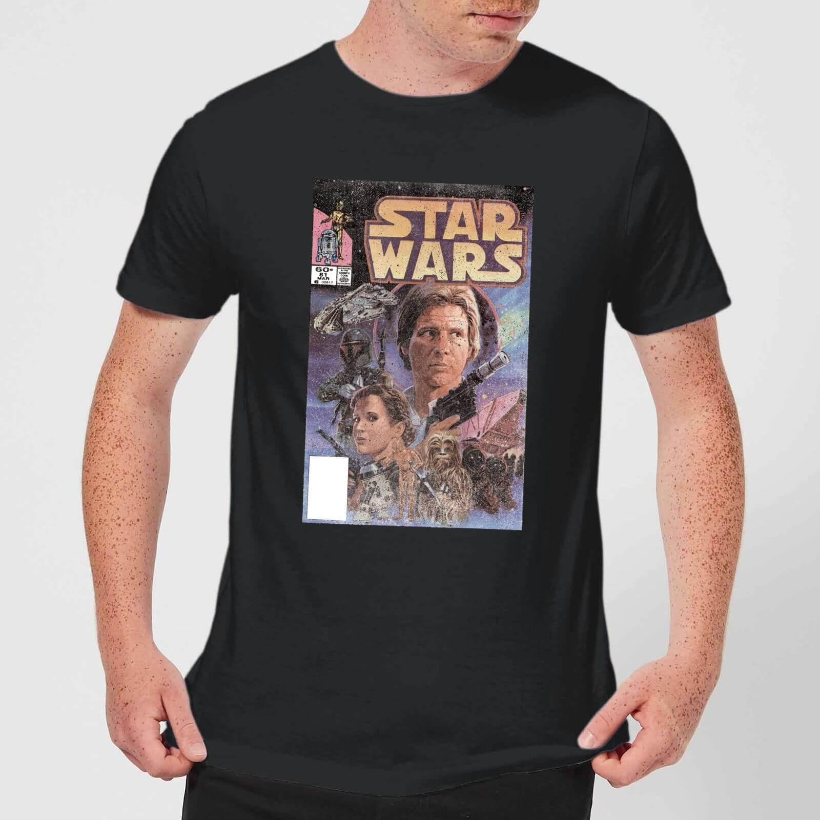 Star Wars Classic Comic Book Cover T-Shirt